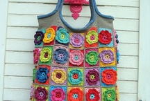 crochet-bags / by Anneke