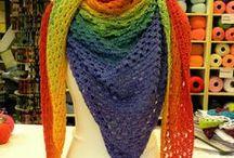 poncho/shawls / by Anneke