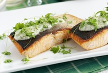 Fish / Don't just save fish for Fridays! It's packed full of Omega 3, utterly tasty and quick to prepare - you can't really go wrong :)