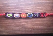 Friendship bracelets ! / Bracelets brésiliens :)