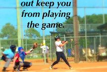 Softball! / The best sport ever!!!! / by Jenny Henderson ⚓️