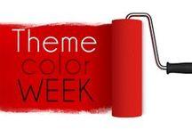 Theme Color Week!  / Pick a color!