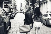 • best friends • / True friends are like diamonds – bright, beautiful, valuable, and always in style.