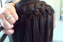 hair, nails etc