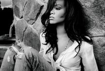 Rihanna / Robyn Rihanna Fenty (born February 20, 1988), known mononymously as Rihanna (pron.: /riˈɑːnə/ ree-AH-nə or /riˈænə/ ree-AN-ə), is a Barbadian recording artist, actress and fashion designer. Born in Saint Michael, Barbados, she began her career as a result of meeting record producer Evan Rogers in late 2003. At age 16, she moved to the United States to pursue a music career.