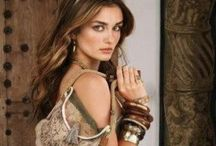 BoHo chic / Bohemian, vintage and hippie inspired