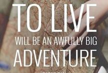 Inspirational Travel Quotes / Quotes about traveling, experiencing new places and seeing the world