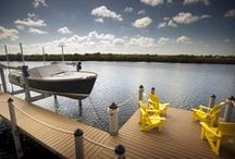 Decks & Docks Projects / Decks & Docks supplied materials for these residential and commercial deck and dock projects.