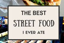 World Food Markets & Street Food Vendors / Check out food markets and street food vendors from around the world and find foods you have to try.