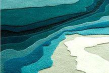 - rug + carpet -
