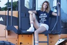 Pink Woman x Surf Addict Fashionista / Fashion blogger collaboration