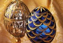 Faberge Eggs / A collection of Faberge eggs