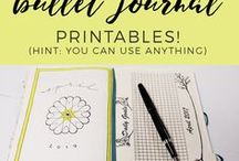 Productive and Pretty Blog / Blog posts from ProductiveandPretty.com. How to start a bullet journal, get bullet journal ideas, layouts, doodles, and free printables, templates, and printouts.