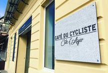 COFFEE LIFE / The place, the shop, the life... of Cafe du cycliste // Le lieu, la boutique, la vie... du Cafe du cycliste