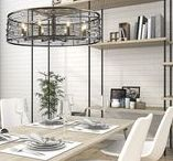 Modern Charm / Bijoux is a jewelry-inspired collection of industrial-chic light fixtures. Partially exposed bulbs shine coyly through hand-wrapped wire shades, lighting the lustrous faceted crystals. A dark beauty, the collection features a hand-painted multi-layered Brushed Etruscan Bronze finish and exudes modern charm.