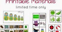 Materiály na vytlačenie / Printables