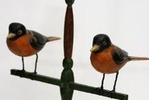 Folk art birds / by Donna Code