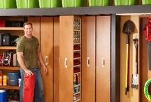 Garage and Storage Room Organizing Ideas