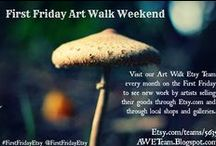 AWETeam Member Shops / Items from members of our First Friday Art Walk on Etsy.com Team
