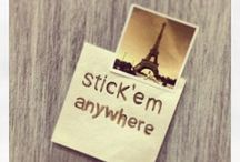 Stick all over / Print your instagrams into reusable stickers to stick and unstick in walls, wood, mdf, mirror, glass windows, metal, tiles, plastic, laptops, smartphones, fridges, whiteboards, surfboards, skateboards ...