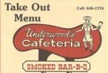 adv:MENUS-VINTAGE (bbq,barbecue,barbeque) / Vintage BBQ menus.  (tags: BBQ, Barbecue, Barbeque, Bar-b-cue, Bar-b-que, B-B-Q, grill, grilling, campfire, chuckwagon, chuck wagon) / by BBQ Explorer