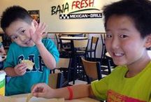 We Love Our Baja Fresh Customers / Pics we've found of our team and customers enjoying a meal at Baja Fresh!