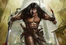 Barbarian /  fantasy / by Machine Man
