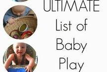 1BlossomHillBaby / Activities for crawlers through preschool/kindergarten / by Think on Dee's Things
