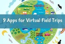 Virtual Field Trips / Awesome virtual field trips thought skype and google hangous.