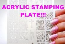 MY VIDEOS - STAMPING PLATES