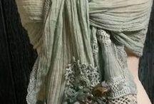 """Roupa """"reciclada""""... / Peças adaptadas a novos usos, que podem ser recicladas, com criatividade e originalidade, a partir de roupas velhas... <3"""