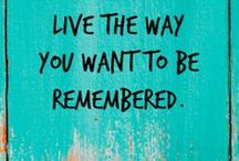 Quotes .. :) / quotes and sayings to live by ... ... ...