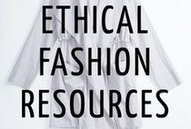 ETHICAL FASHION BRANDS / A collection of socially-responsible products and brands that will serve as a resource for any conscious/ethical consumer! | Because fashion should be empowering, not destructive.