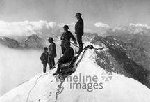 Alpinismus, 1900-1969 / Bergsteiger in den Alpen #Mountaineering #Alps #Alpinism