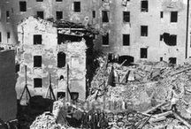 Zerstörtes München / Bilder aus dem von Luftangriffen zerstörten München im und nach dem Zweiten Weltkrieg.