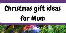 Christmas Gift Ideas for Mum / Christmas gift ideas for Mum. You want to give a unique present to Mum this Christmas. This board has some great ideas to delight your Mother this Christmas.