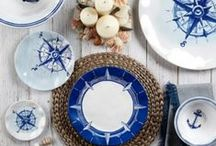 Beach House Inspiration / Dinnerware, outdoor decor and more for the summer!