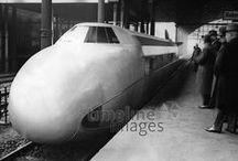 Eisenbahn Historisch / Historische Bilder von Zügen im Europa des 20. Jahrhunderts.