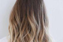Hair inspo / Balayage and hair ideas