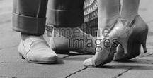 Schuhe historisch / Historische Aufnahmen von Schuhen.