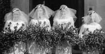 Hochzeit, 20er und 30er / Das freudige Fest der Eheschließungen in den 20er und 30er Jahren.