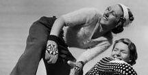 Wintermode 1900-1950er / Winterliche Damen-, Herren- und Kindermode historisch