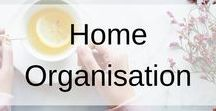 Home Organisation / If you want your house organised, then this board is the one for you. Tips, tricks, ideas and hacks on making your home organised and a dream to live in. Create your clean, calm and organised home with these hacks.