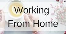 Working from home / Income ideas working from home.  Home Office ideas.  Blogging from home. Work at home income ideas. Whether you are running your office from home or want to have a home office, here you will find inspirational home office design along with making an income working from home ideas.
