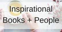 Inspirational Books and People / Inspirational Books and People.  Let's aim high and reach for the stars!  Inspirational and Recommended Reading and people to follow.