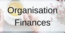 Organisation Finances / This board contains everything you need to get your finances organised. Plenty of free printables, personal finance organisation tips and advice on topics such as investing, budgeting and business management.