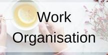 Work Organisation / his board contains work organisation ideas to get you to the top. From storage and purchased to to-do-lists and lunches, there are plenty of ideas and printables to get you completely organised.