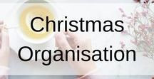 Christmas Organisation / This board contains, tips, tricks and hacks to organise your perfect Christmas. Ideas on what to put on the tree, printables for making lists to remember everything, buying and wrapping organisation and more.