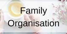 Family Organisation / Family organisation ideas for everyone in your home. This board includes; to do lists, organisation hub boards, tips, tricks, organisation hacks, ideas to simplify your home, uncluttering/decluttering, cleaning hacks, routines ideas, printables, schedules and more.