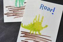 Basteln Kindern nur Dinosaurier / Rund um Dinosaurier basteln